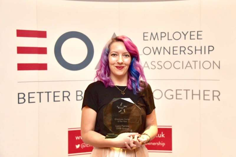 Lucy Farrow has been named as Employee Owner of the Year