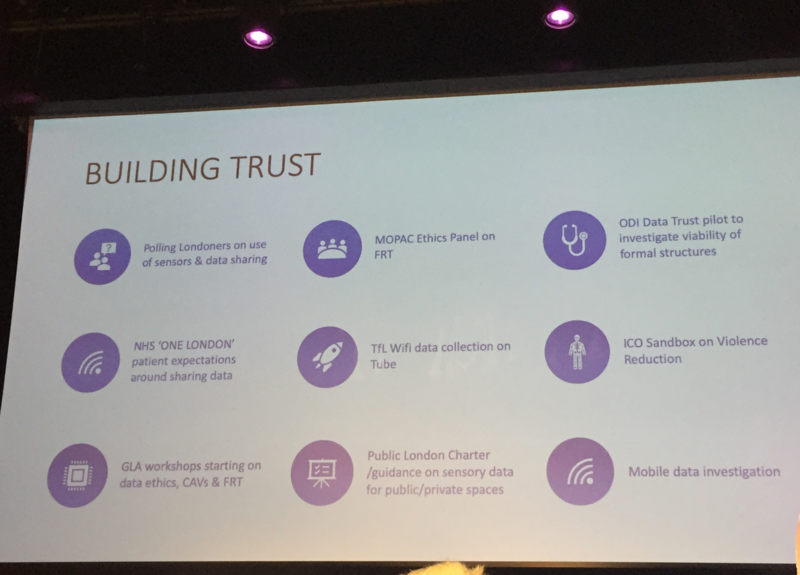 You want to build trust? Then show trust.