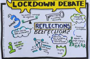 #LockdownDebate: Public Research on Attitudes to Leaving Lockdown.  Webinar 23 June 2020